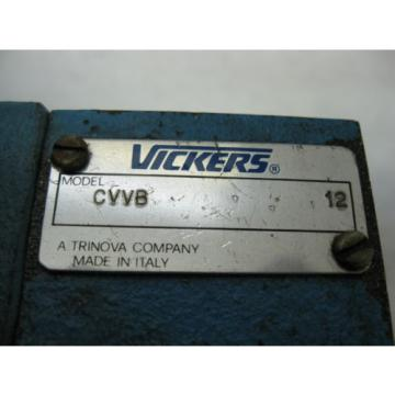 VVB032E-PW20CCW Brazil  VICKERS VARIABLE VANE HYDRAULIC PUMP 32 CM3/R VOLUME