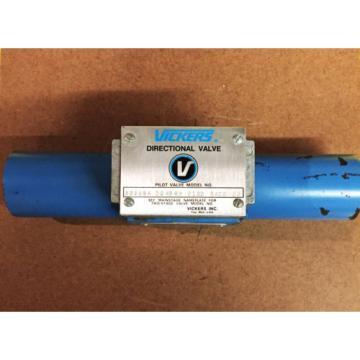Vickers SolomonIs Hydraulic Directional Valve 586694 DG 4S 4W 012C 24DC 50