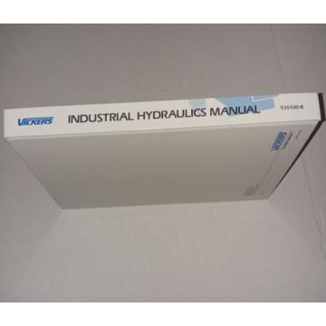 Vickers United States of America  Industrial Hydraulics Manual 1989, 935100-B, Hardcover, Second Edition
