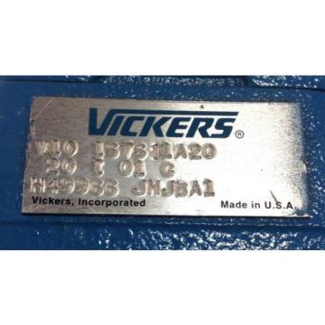 VICKERS Denmark HYDRAULIC PUMP V10 1S7S 11A20 100628