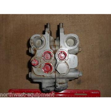 Vickers Iran 2 spool hydraulic control VALVE for forklift #s CM11ND2 R20A6; WL 21 042