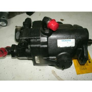 VICKERS Argentina  HYDRAULIC AXIAL PUMP PVB15-RS-40-C PVB15RS40C 11S2124 USED