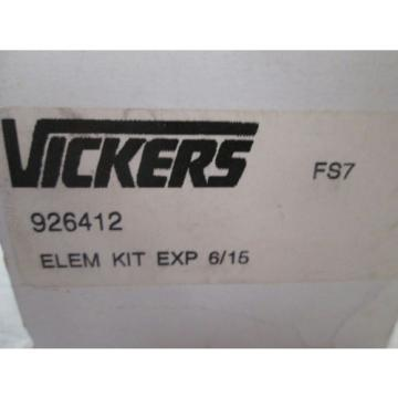 Origin Azerbaijan  Eaton/Vickers 926412 10 Micron Hydraulic Filter Element Kit