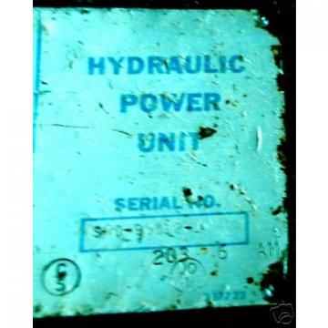 Vickers Reunion  Hydraulic Power Unit Inv17092