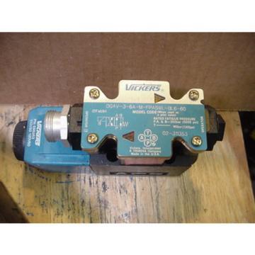 origin Cuinea Eaton Vickers 02-311353 DG4V-3-6A-M-FPA5WL-BL6-60 hydraulic solenoid valve
