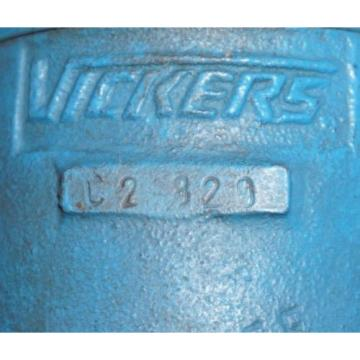Origin Cuba  VICKERS C2-320 HYDRAULIC CHECK VALVE C2320