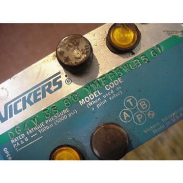 origin Barbados Eaton Vickers DG4V-3-6A-M-FPA5WL-BL6-60 hydraulic solenoid valve 02-145174