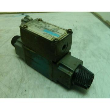 Vickers Rep.  Hydraulic Directional Control Valve, DG4V-3-6C-M-W-B-40, Used, Warranty
