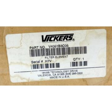 Vickers Samoa Eastern  V4051B3C05 Hydraulic Filter Element