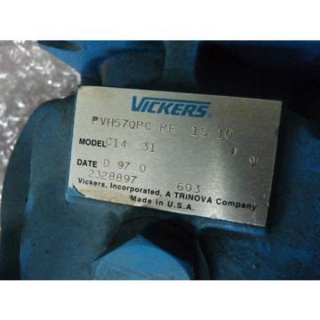 Vickers Barbuda PVH57QPCRF1S10 Hydraulic Piston Pump  USED