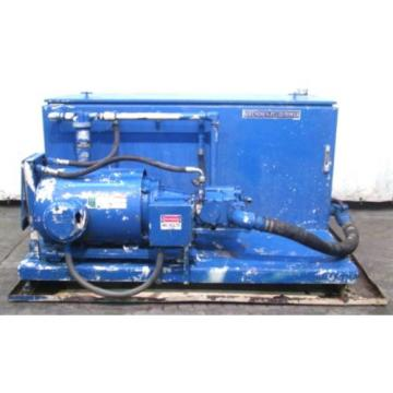 BERENDSEN Egypt  FLUID POWER HYDRAULIC UNIT W/VICKERS PUMP PVH98QIC, 50HP MOTOR, 150GAL