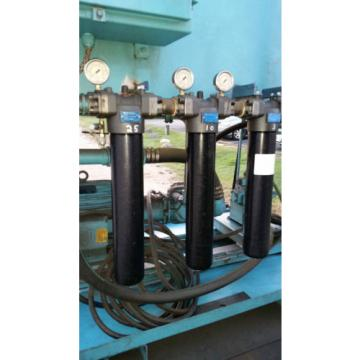 2010 Botswana  20 Hp Skid Mount Vickers 3,000 PSI High Flow Hydraulic Pump 200 Gallon tank