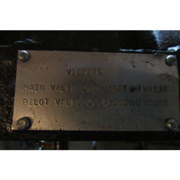 Vickers Denmark DG5S-8-4C-E-T-VM-FW-B5-30 Hydraulic Valve