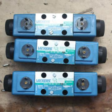 VICKERS Belarus HYDRAULIC DG4V-3S-8C-VM-U-A5-60 A02-101725 Solenoid Operated Directional
