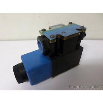 Used Swaziland  Vickers Closed Center Solenoid Hydraulic Valve, DG4V-3S-2A-M-FTWL-B5-60