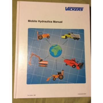 Vickers Malta  Mobile Hydraulics Manual by Frederick C Wood 1998 Hardcover Like origin