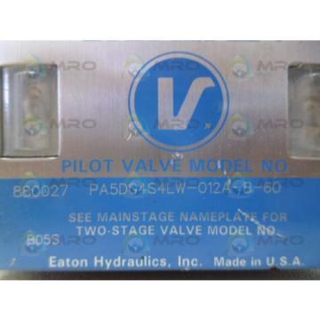 VICKERS CostaRica PA5DG4S4LW-012A-B-60 HYDRAULIC CONTROL VALVE Origin NO BOX