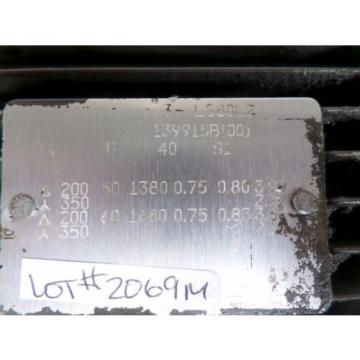 VICKERS Russia HYDRAULIC PUMP 3-LS80L2 139915BI001 PUMP PVB6 RSWY 21 CM 11 LOT#2069M