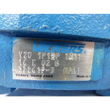 Vickers Moldova, Republic of  V20-1P12P-1A11-16K-02-6 Hydraulic Pump   Origin