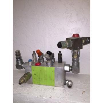 PMSI Niger Precision Hydraulic Manifold Aluminium Block Assy 25-235 987 Sun Vickers