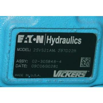 Eaton Cuba Hydraulics 25VS21AM 297D22R Rotary Vane Pump Hydraulic Vickers 7P86107 Origin