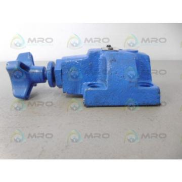 VICKERS Denmark CGR02FK30 RELIEF VALVE USED