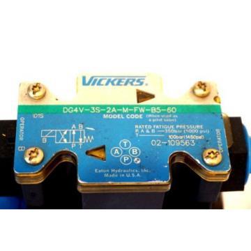 Origin Reunion VICKERS DG4V-3S-2A-M-FW-B5-60 DIRECTIONAL CONTROL VALVE DG4V3S2AMFWB560