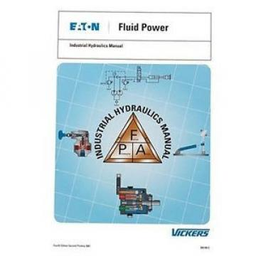 USED Cuinea GD Vickers Industrial Hydraulics Manual by Vickers Training Center