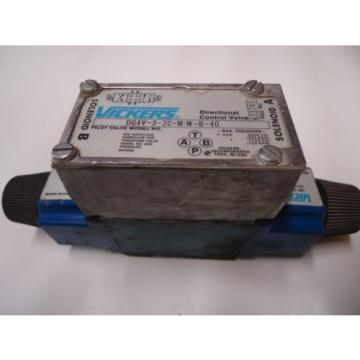 Vickers Gibraltar  DG4V-3-2C-M-W-B40 Directional Control Valve Solenoid