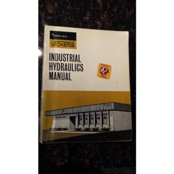 Sperry Bahamas  Vickers Industrial Hydraulics Manual 935100-A 1970 1st Edition AXL