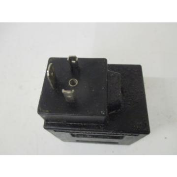 VICKERS Niger 02-178087 COIL SOLENOID 24VDC USED