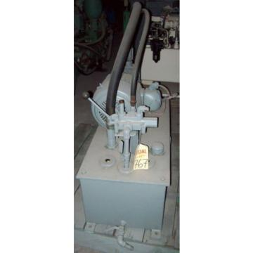 3 SolomonIs HP VICKERS Hydraulic System; 2,500 psi, 91 gpm