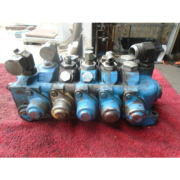 Vickers Mauritius  5-Spool Main Hydraulic Control Valve for Caterpillar V160-300-#J89SDH