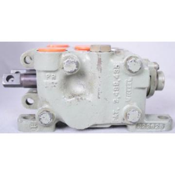 Vickers Egypt Double Spool Hydraulic Valve Working PN 222627  FREE SHIPPING