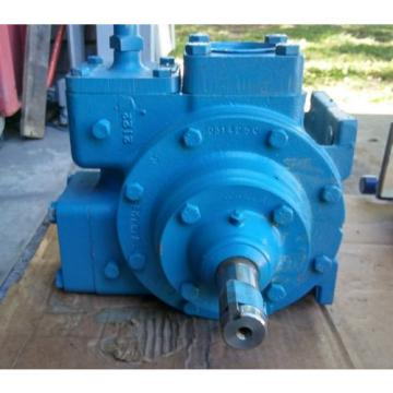 Vickers Burma Hydraulic Pump and Valve,  model X25B,  L@@K OEM Rebuilt