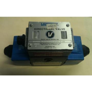 Origin Luxembourg VICKERS  PA5D G4S4LW 016C B 60  20GPM  HYDRAULIC DIRECTIONAL CONTROL VALVE