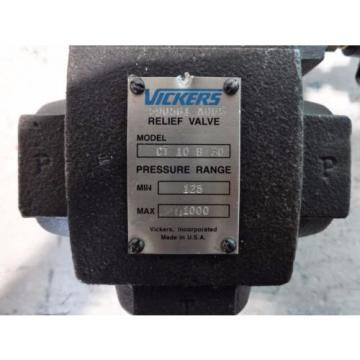 VICKERS Russia 1-1/4#034; HYDRAULIC RELIEF VALVE CT 10 B 30