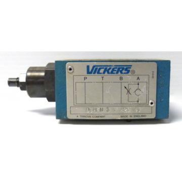 Vickers Cuba DGMFN-3-Y-A2W-41 Flow Control Valve Blue