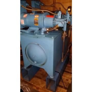 Continental Rep.  Hydraulic Power unit PVR6-6B15-RF-0-6-H Vickers, DUAL PUMP MOTOR HEs