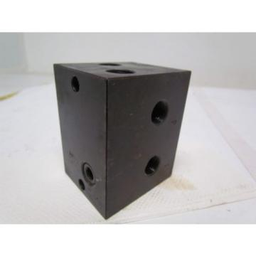 Nachi Bahrain  S-1491-5 Single Position Hydraulic Manifold / Valve Block