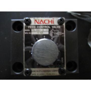 Origin St.Lucia NACHI TL-GO3-2-11 HYDRAULIC FEED CONTROL VALVE TL -G03 -2 -11