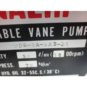 NACHI Ascension VARIABLE VANE PUMP VDR-1A-1A3-21