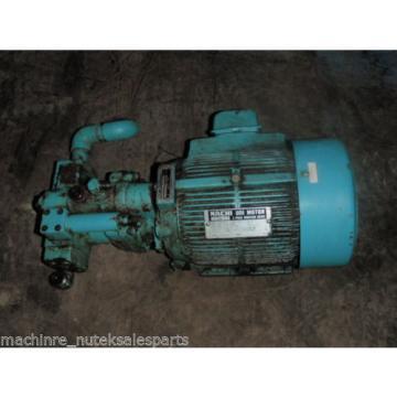 Nachi Bahrain Piston Pump PVS-1B-16N1-2535A _ UPV-1A-16N1-15A-4-2535A _ Motor LTIS70-NR