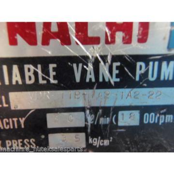 Nachi Uganda Variable Vane Pump VDR-11B-1A2-1A2-22_VDR11B1A21A222