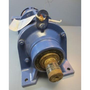 Sumitomo Geared Baldor 3 HP AC Motor CWDM3611T 8:1 Gear Box CNHJMS3-6125Y-8