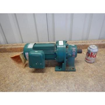 Origin Sumitomo CNHM-05-4105-YB-B Gear Reducer amp; Motor 1/2 HP 59:1 Ratio 230/460 V
