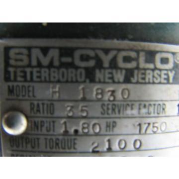 Sumitomo SM-Cyclo R1830 Inline Gear Reducer 35 Ratio 180Hp