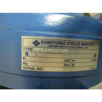 origin Sumitomo Cyclo 6000 Series Gear Reducer - CNHXS-6120G-11/G
