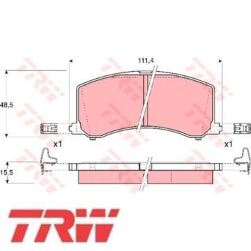 Bremsbelagsatz Bremsbeläge Bremsklötze TRW 23400 GDB3091