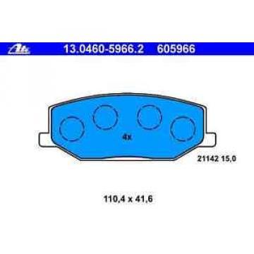Bremsbelagsatz Scheibenbremse SUZUKI - ATE 130460-59662